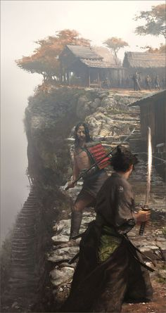Japan(日本),Samurai(侍) & Life( 生活 ) — Perfect Ronin Samurai, Samurai Warrior, Fantasy Warrior, Fantasy Art, Samurai Artwork, Drawn Art, Concept Art World, Book Cover Art, Japanese Art
