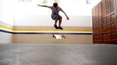 Gabriel Rodrigues - Manobras de Long - Clube do skate
