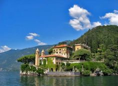 Villa Visconti in Lake Como, Italy - Visconti is a Calabrese name. Como is a beautiful place and a must see.