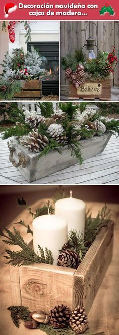 Love this for Christmas decor in PB candle holders