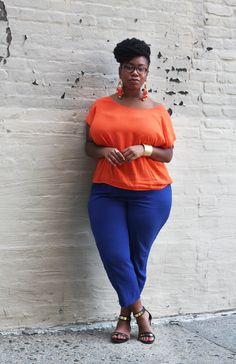 Kelly Augustine: OUTFIT: Color Block Shock
