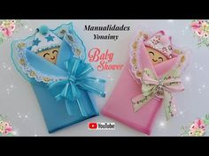 MANUALIDADES YONAIMY Gift Wrapping, Videos, Holiday, Youtube, Gifts, Souvenir, Baby Shower Souvenirs, Envelopes, Jelly Beans