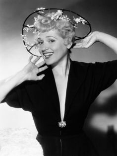 The beautiful, Judy Holliday. Love her smile!