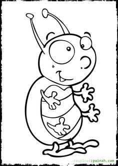 Bug Coloring Sheet Free