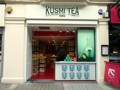 """Kusmi Tea in Marylebone Road, London - try the """"detox"""" tea after heavy night out on the town!"""