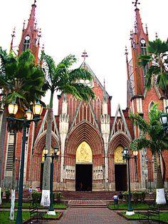 Iglesia Santa Bárbara de Rubio, Edo. Táchira, Venezuela