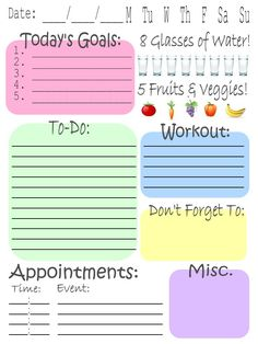 I'm pinning to health and fitness because I would feel so much better if I had…