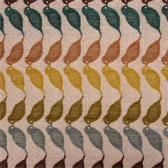 Woodstock Mineral Cut Chenille Coral Design Upholstery Fabric - SW37605 - Fabric By The Yard At Discount Prices