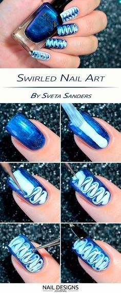 Quick Guide to 15 Stylish Yet Simple Nail Designs ★ See more: #nails