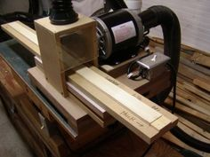 sander for bow laminations