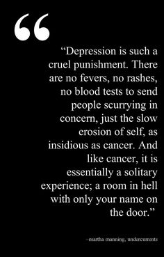 Depression seems to be a side effect of my neurological diseases. People just don't get it!