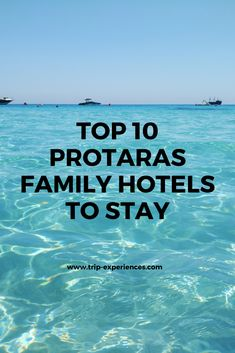 Cyprus is an all-rounder of a Mediterranean island, which makes it a top choice for planning and enjoying a family holiday. I have prepared a list of family-friendly hotels for you to check and have an enjoyable time with your family in Protaras. Family Holiday, Cyprus, Friends Family, Hotels, Island, How To Plan, Check, Top, Travel