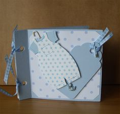 Blue Baby Boy Brag Book by AuntyJoanCrafts on Etsy, £2.50