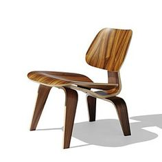PLYWOOD = LEPENKA --- Phenomenal plywood chair from Charles Eames and Ray Eames