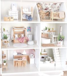 ✨ Credit: can find Barbie house and more on our website. Modern Dollhouse Furniture, Diy Barbie Furniture, Furniture Legs, Garden Furniture, Furniture Design, Mini Doll House, Barbie Doll House, Barbie Barbie, Barbie Dress