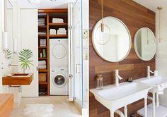 Wnętrza i lifestyle. Na luzie!: Drewniane łazienki