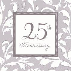 Pack 2 Feliz 25 Aniversario Adorno Toppers Para Las Tarjetas Y Manualidades