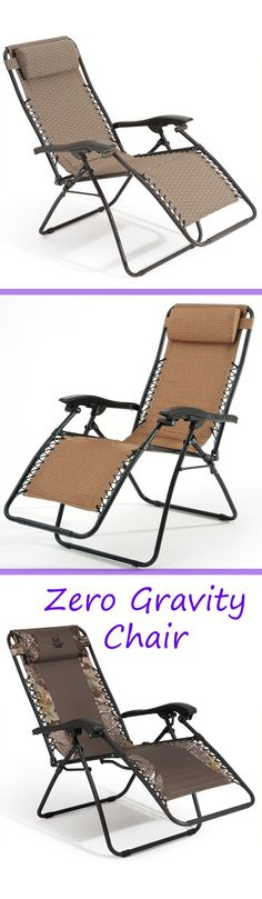 You'll feel like you're floating, when you sit back and #relax in an Oxford Fabric Zero Gravity #Chair
