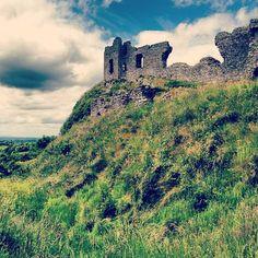 Rock of Dunamase in County Laois, Ireland