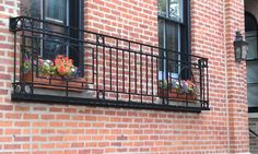 The Iron King Balcony. Find out more at http://innotechmfg.com/balconies-window-railings