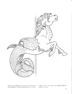 Carousel 1 Coloring Page