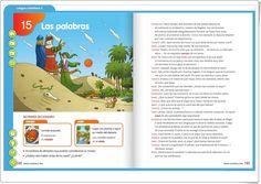 Unidad 15 de Lengua de 2º de Primaria Editorial, Interactive Activities, Spanish Language, Unity, United States, Words