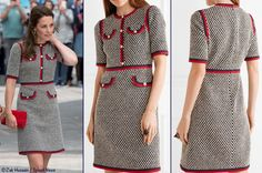 Gucci Tweed Dress Juin 2017