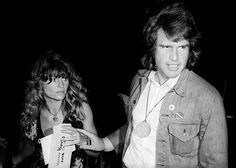 """Beatty and Christie at the L.A. Forum for a McGovern rally on April 15, 1972. """"If ever a movie star existed for whom stardom meant nothing, it was Julie,"""" says Robert Towne. One day she appalled her lover and McCabe and Mrs. Miller and Shampoo co-star Warren Beatty by losing a $1,000 check in the street."""
