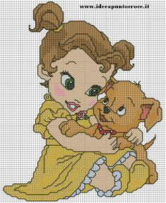 BABY BELLE cross stitch