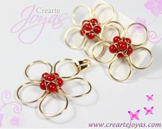 Hand Work Design, Diy Earrings, Handmade Necklaces, Wire Jewelry, Jewerly, Bracelets, Crafts, Style, Molde