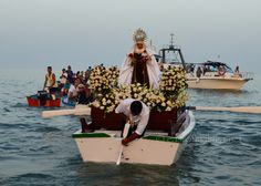 Celebrations for Virgen del Carmen, Torre del Mar, Spain Festivals Around The World, Fishing Villages, Andalusia, Mother Mary, Malaga, Writers, Celebrations, Coastal, The Past