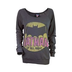 Batman Long Sleeve T-Shirt by Junk Food I Am Batman, Batman Stuff, Superman, Batman Outfits, Batman Shoes, Long Sleeve Tops, Long Sleeve Shirts, Nananana Batman, Geek Outfit