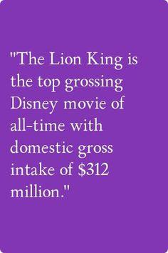 Disney fact I knew that!