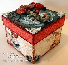 Altered Box - A little work of art!