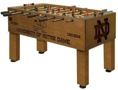 Use this Exclusive coupon code: PINFIVE to receive an additional 5% off the University of Notre Dame Fighting Irish Foosball Table at sportsfansplus.com