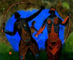 rufino tamayo (1899-1991)-jovencitas saltando la cuerda