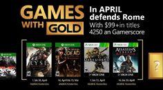 Juegos Xbox Live con suscripción Gold para Abril 2017