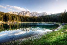 | Il massiccio del Latemar e il lago di Carezza | Bolzano |  www.volamondo.it