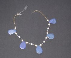 Lapis necklace designed by Cathe Linton of Warwick, NY