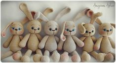Conejo Amigurumi * Patrón Gratis * Saekita Ganchillo