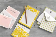 #MothersDay gift idea: Personalized note cards, note pads, and stationery.     See more gift ideas: http://www.countryliving.com/homes/shopping/2012-mothers-day-gift-guide