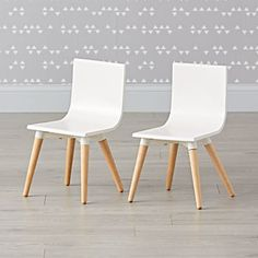 Set of 2 Pint Sized Chairs - Land of Nod