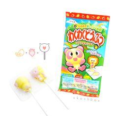 DIY Animal Lollipop Kits! Lemon and Strawberry Flavor = YUM
