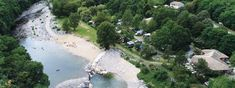 Met grotere kinderen leuk- Camping le Ventadour - Camping 3 étoiles à Meyras en Ardèche Camping France, Sport Nature, Camping 3, Water, Outdoor, Thermal Baths, Children Playground, Nice Beach, Swim
