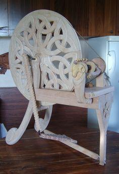 Fabrication d'un rouet ...