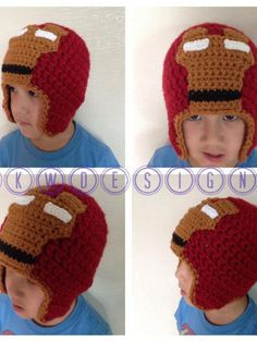 As promised… Here's the FREE pattern for the Iron Man hat faceplate. Please keep in mind that this pattern in ONLY for the faceplate. There are many free patterns available online for simple crochet hats. For best results, use a pattern that uses bulky yarn or two strands of worsted weight yarn held together. Please …