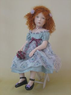 Sylvia Natterer SUNDAY AFTERNOON collection doll_LAETITIA, 2008
