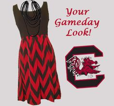 Get your #Gameday look at Palmetto Moon! #USC #Gamecocks