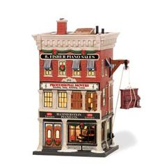 "Department 56: Products - ""Hammerstein Piano Co."" - View Lighted Buildings  Wish list"