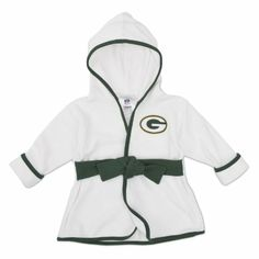 Amazon.com: NFL Green Bay Packers Boy's Robe, 0-9 Months, Green: Clothing